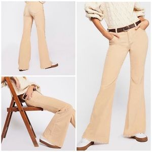 New Free People Vintage Cord Flare Pants